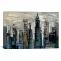 New York Moment by Silvia Vassileva Oversized Gallery Wrapped Canvas Artwork - 60''W x 40''H x 1.5''D [WAC1319-1PC6-60X40-ICAN]