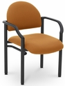 Lakeport 23.38'' W x 20'' D x 18.5'' H 250Lb. Capacity Guest Stack Chair - Open House Amber [E-18520-2020-EOF]