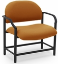 Lakeport 29.5'' W x 34.5'' H 700 Lb. Capacity Guest Chair - Open House Amber [E-18520-BA-2020-FS-EOF]