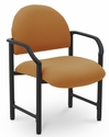Lakeport 27'' W x 26.5'' D x 35'' H 400 Lb. Capacity Guest Chair - Open House Amber [E-18520-HD-2020-FS-EOF]