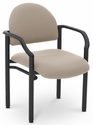 Lakeport 23.38'' W x 20'' D x 18.5'' H 250Lb. Capacity Guest Stack Chair - Open House Angora [E-18520-2035-EOF]