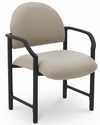 Lakeport 27'' W x 26.5'' D x 35'' H 400 Lb. Capacity Guest Chair - Open House Angora [E-18520-HD-2035-FS-EOF]