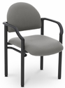 Lakeport 23.38'' W x 20'' D x 18.5'' H 250Lb. Capacity Guest Stack Chair - Open House Asteroid [E-18520-2053-EOF]