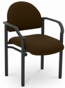 Lakeport 23.38'' W x 20'' D x 18.5'' H 250Lb. Capacity Guest Stack Chair - Open House Coffee Bean [E-18520-2083-EOF]