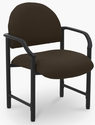 Lakeport 27'' W x 26.5'' D x 35'' H 400 Lb. Capacity Guest Chair - Open House Coffee Bean [E-18520-HD-2083-FS-EOF]