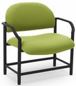 Lakeport 29.5'' W x 34.5'' H 700 Lb. Capacity Guest Chair - Open House Green Apple [E-18520-BA-2087-FS-EOF]