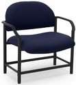 Lakeport 29.5'' W x 34.5'' H 700 Lb. Capacity Guest Chair - Open House Midnight [E-18520-BA-2025-FS-EOF]