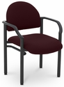 Lakeport 23.38'' W x 20'' D x 18.5'' H 250Lb. Capacity Guest Stack Chair - Open House Mulberry [E-18520-2044-EOF]