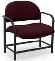 Lakeport 29.5'' W x 34.5'' H 700 Lb. Capacity Guest Chair - Open House Mulberry [E-18520-BA-2044-FS-EOF]