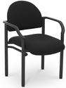 Lakeport 23.38'' W x 20'' D x 18.5'' H 250Lb. Capacity Guest Stack Chair - Open House Onyx [E-18520-2016-EOF]