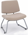Orleans 400 Lbs Capacity Guest Chair - Seat and Back in Open House Angora [E-21300-SF-2035-FS-EOF]