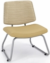 Orleans Guest Chair - Back in Underground Champagne with Seat in Vista Sandstone [E21300-SF-1011-FS-EOF]