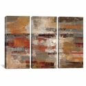 Painted Desert by Silvia Vassileva Triptych Gallery Wrapped Canvas Artwork - 60''W x 40''H x 1.5''D [WAC1391-3PC6-60X40-ICAN]