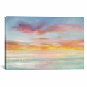 Pastel Sky by Danhui Nai Gallery Wrapped Canvas Artwork with Floating Frame - 27''W x 19''H x 1.5''D [WAC4349-1PC6-26X18-FF01-ICAN]
