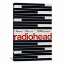 Radiohead at The Warfield: July 27th,1997 by Swissted Gallery Wrapped Canvas Artwork with Floating Frame - 19''W x 27''H x 1.5''D [SWI15-1PC6-26X18-FF01-ICAN]