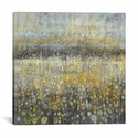 Rain Abstract II by Danhui Nai Gallery Wrapped Canvas Artwork - 18''W x 18''H x 0.75''D [WAC4870-1PC3-18X18-ICAN]