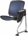 Ready Link Row Add-On Chair with Tablet - Blue [K211T-BLUE-SLV-MFO]