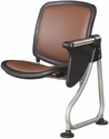 Ready Link Row Add-On Chair with Tablet - Maroon [K211T-MRN-SLV-MFO]