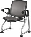 Ready Link Row Starter Chair - Charcoal [K212-CHCL-SLV-MFO]
