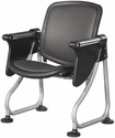 Ready Link Row Starter Chair with Tablet - Charcoal [K212T-CHCL-SLV-MFO]