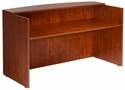 Reception Desk Shell - Cherry [N169-C-FS-BOSS]
