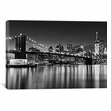 Silver City by Katherine Gendreau Gallery Wrapped Canvas Artwork - 26''W x 18''H x 0.75''D [WAC2484-1PC3-26X18-ICAN]