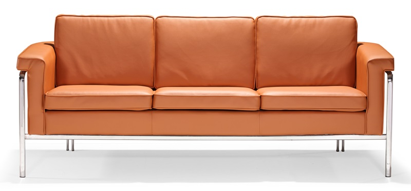 Singular Sofa In Terracotta [900168 FS ZUO]