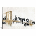 Skyline Crossing by Avery Tillmon Gallery Wrapped Canvas Artwork with Floating Frame - 27''W x 19''H x 1.5''D [WAC3813-1PC6-26X18-FF01-ICAN]
