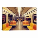 Soul Train by Katherine Gendreau Gallery Wrapped Canvas Artwork with Floating Frame - 27''W x 19''H x 1.5''D [WAC2485-1PC6-26X18-FF01-ICAN]