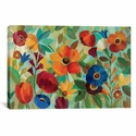 Summer Floral V by Silvia Vassileva Oversized Gallery Wrapped Canvas Artwork - 60''W x 40''H x 1.5''D [WAC1388-1PC6-60X40-ICAN]