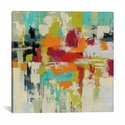 Summer Silk Road by Sylvia Vassileva Gallery Wrapped Canvas Artwork - 18''W x 18''H x 0.75''D [WAC4861-1PC3-18X18-ICAN]