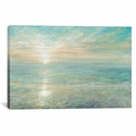 Sunrise by Danhui Nai Gallery Wrapped Canvas Artwork with Floating Frame - 41''W x 27''H x 1.5''D [WAC3748-1PC6-40X26-FF01-ICAN]