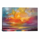 Sunset by Scott Naismith Gallery Wrapped Canvas Artwork with Floating Frame - 27''W x 19''H x 1.5''D [SNH79-1PC6-26X18-FF01-ICAN]