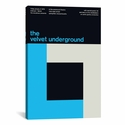 The Velvet Underground at The Paramount Theatre: January 9th by Swissted Gallery Wrapped Canvas Artwork - 18''W x 26''H x 0.75''D [SWI28-1PC3-26X18-ICAN]