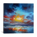 Uist Cloud II by Scott Naismith Gallery Wrapped Canvas Artwork - 18''W x 18''H x 0.75''D [SNH54-1PC3-18X18-ICAN]