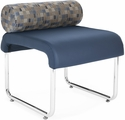 Uno Pillow Back Seat - Blue Jay Back with Navy seat [421-BLJY-PU605-MFO]