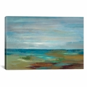 Wispy Clouds by Silvia Vassileva Gallery Wrapped Canvas Artwork with Floating Frame - 41''W x 27''H x 1.5''D [WAC1460-1PC6-40X26-FF01-ICAN]