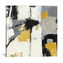 Yellow Catalina I by Mike Schick Gallery Wrapped Canvas Artwork - 26''W x 26''H x 0.75''D [WAC1784-1PC3-26X26-ICAN]