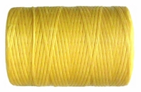 Waxed tie string 500 yard YELLOW