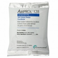Amprol 128  10 oz. powder   (20% amprolium)  (not for sale in California)