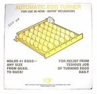 Auto Egg Turner # 1621 for Hova-Bator  220 volt