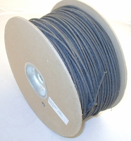 Black Nylon cord 1000' roll  (+freight, can not select standard shipping)
