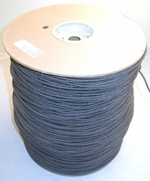 Black Nylon cord 3000' roll (+freight, can not select standard shipping)