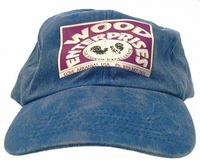 Baseball cap with logo WASHED BLUE