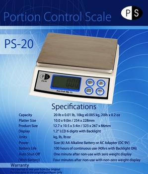 Electronic Scale  PS-20 (+freight)