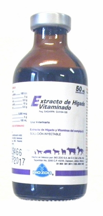 Extracto de Higado  50ml (liver extract)