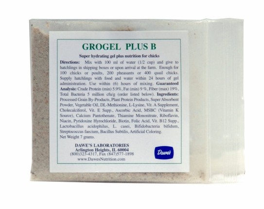 """Grogel Plus B   100 dose <p style=""""font-family:arial;color:purple;font-size:10px;"""">(click here to see pricing)"""