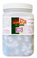 "Insulator  500 capsules    <p style=""font-family:arial;color:purple;font-size:10px;"">(click here to see pricing)"