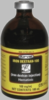 Iron Dextran  100mg/ml  100ml inj.