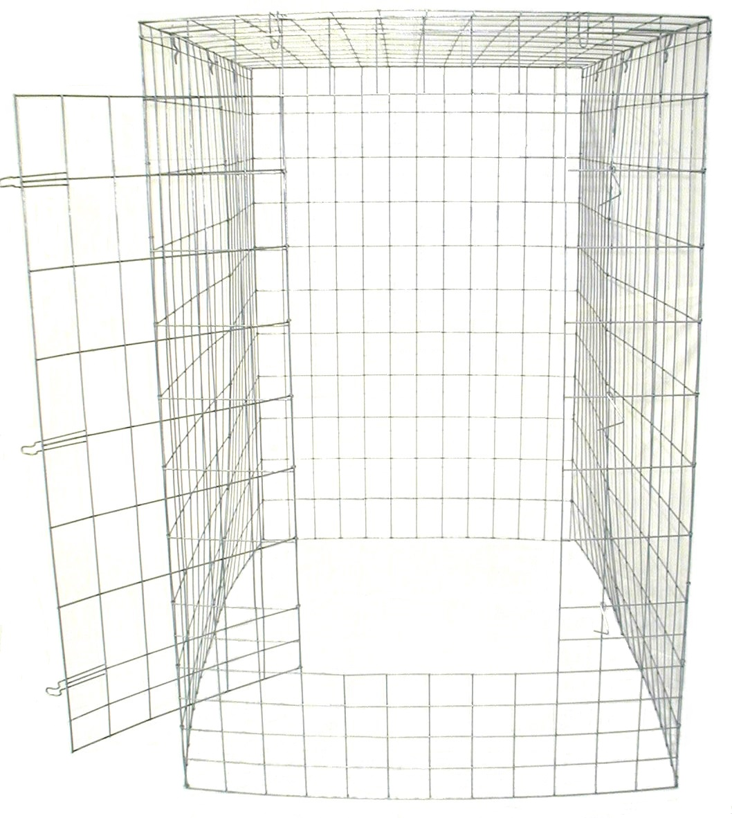 Large Fly Pen 10 12 Gauge Wire Galvanized Extra Wire At